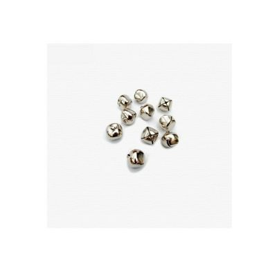 Craft Factory Silver Bells 6mm