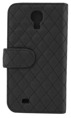 Tortoise™ Look Quilted Folio Case Samsung Galaxy S4 Black