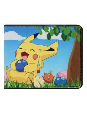 Pokemon Pikachu Laughing Bi-Fold Wallet
