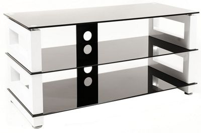 Optimum High Gloss White TV Stand for up to 50 inch TVs