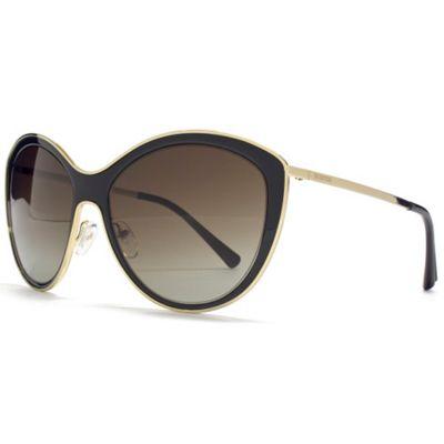 Valentino Sunglasses Cateye in Black.