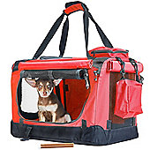 Andrew James Cosy Pet Carrier in Red