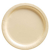Ivory Plates - 23cm Paper Party Plates - 20 Pack