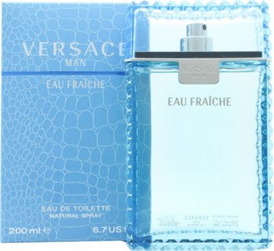 Versace Man Eau Fraiche Eau de Toilette (EDT) 200ml Spray For Men