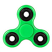 Tri Fidget Hand Spinner Toy, Fidget Spinner Fidget Finger Toy (Green) UK Stock