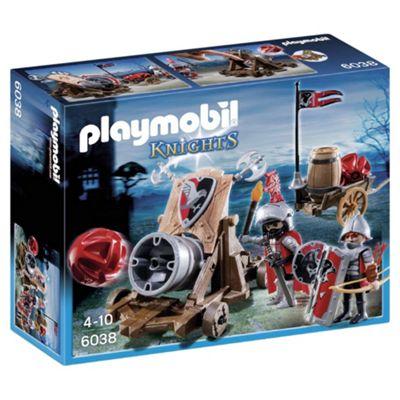 Playmobil 6038 Hawk Knights' Battle Cannon
