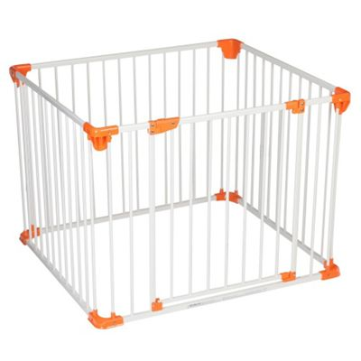 Safetots Simply Safe Playpen White with Orange