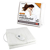 Lloytron Superior Washable Triple Heat Control Electric Underblanket Beab Approved - Single