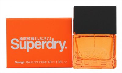 Superdry Orange Cologne 40ml Spray For Men