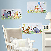 Disney Winnie The Pooh Poster Giant Wall Sticker