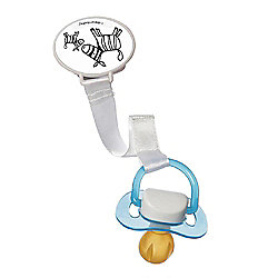 Dreambaby Pacifier Holders Lions and Zebras Pack of 2