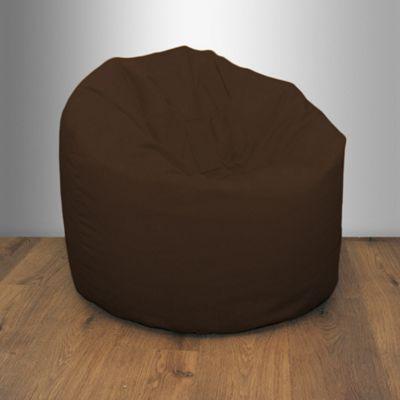 Brown Splashproof Bean Bag Chair Indoor Outdoor Beanbag Seat Garden Furniture