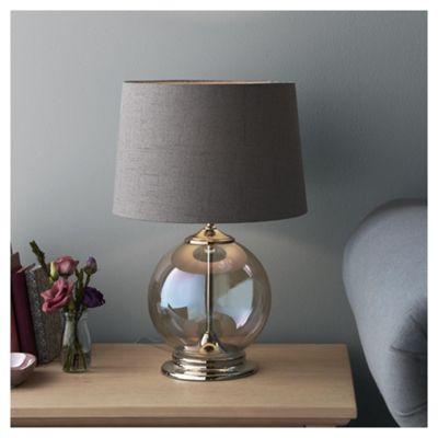 Fox & Ivy Iridescent Glass Table Lamp