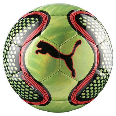 Puma Future Net Football Soccer Ball Green/Black - Size 5