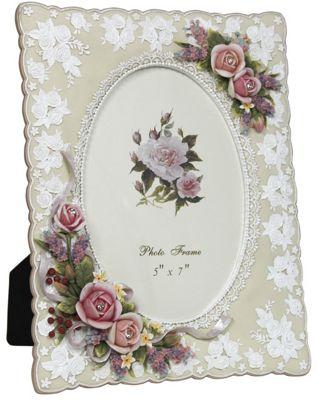 Rosebuds 5 x 7 Photo Frame