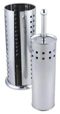 Sabichi Stainless Steel Toilet Brush & Roll Holder