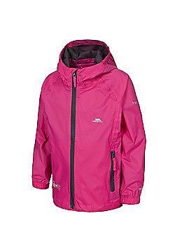 Trespass Boys Qikpac Waterproof Packaway Jacket - Cerise