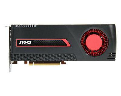 MSI R7970 Graphics Card AMD Radeon HD 7970 3GB DVI HDMI 2 Mini DisplayPorts Overclocked