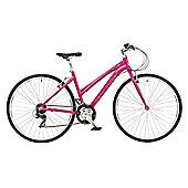 "Claud Butler Urban 200 Pink Urban Bike 18"""