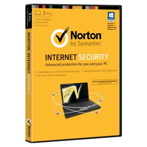 Norton Internet Security 2013 - 3 User