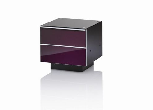 UK-CF G Series DRW Compact TV Unit - 47cm - Damson