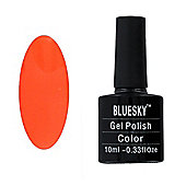 Bluesky Neon Range 10 ml Gel Polish - Luminous Orange