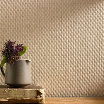 Superfresco Aaron Plain Textured Stone Wallpaper