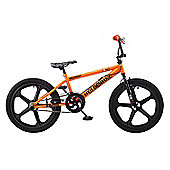 Rooster Big Daddy 20 BMX Orange/Black with Skyway Mag Wheels