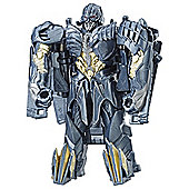 Transformers The Last Knight 1-Step Turbo Changer Megatron Figure