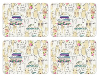 Cooksmart Top Cats Pack of 4 Placemats