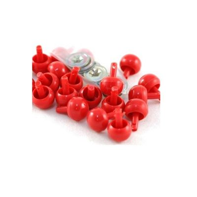 Craft Factory Red Ball Noses 15mm