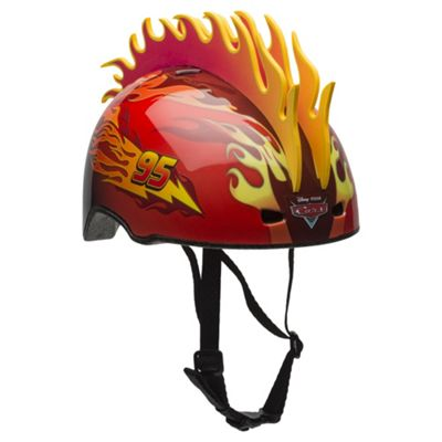 Disney Cars, 3D Flame, Kids' Bike Helmet, 51 - 54cm