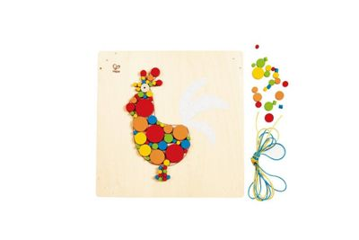 Hape Rooster Mosaic Craft