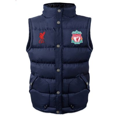 Liverpool FC Boys Gilet 6-7 Years