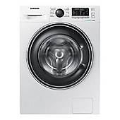 SAMSUNG-WW80J5555EW Freestanding Washing Machine with 8KG Load Capacity and 1400RPM Spin Speed