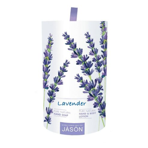 Jason Lavender Hand Soap and Hand & Body Lotion Gift Set