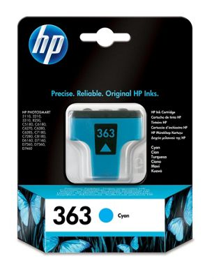 HP Printer ink cartridge for 3210 3310 C6180 C6270 - Cyan