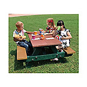 BrackenStyle Junior Picnic Table - Multi-coloured
