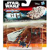 Star Wars The Force Awakens Micro Machines 3-Pack The First Order Attacks - Dolls and Playsets