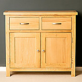 London Oak Small Sideboard - Light Oak