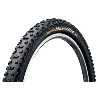 Continental Mountain King II Rigid Tyre in Black - 28 x 2.20 (29er)