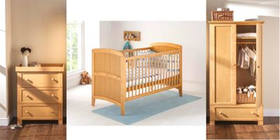 East Coast Venice 3 Piece Nursery Room Set (Antique)