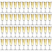 Rink Drink Plastic Champagne Outdoor Flutes - Pack Of 48