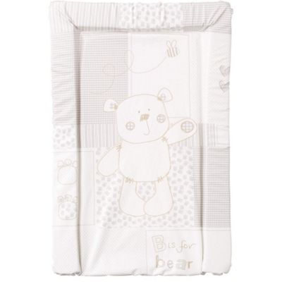 OBaby B is for Bear Changing Mat (White)