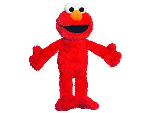 Sesame Street Tickle and Giggle Elmo