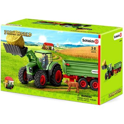 Schleich 42379 - Farm Life Tractor with trailer