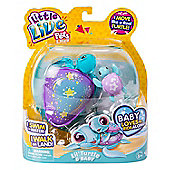 Little Live Pets Lil' Turtle & Baby - Sky The Star Turtle & Baby