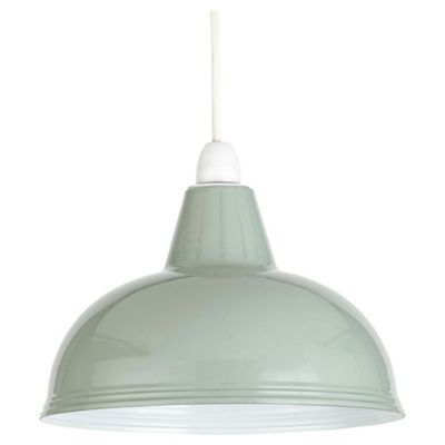Brand-new Buy Thorpness Small Metal Pendant Shade, Sage Green from our  LB16