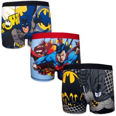 DC Comics Batman Superman Boys Boxer Shorts 3 Pack 4-5 Years