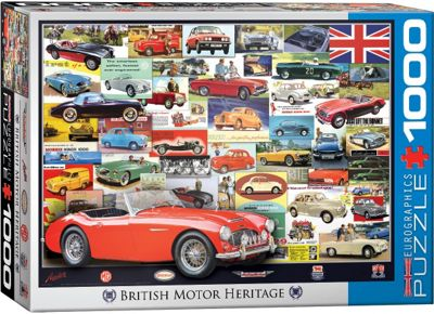 British Motor Heritage Collection - 1000pc Puzzle
